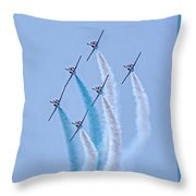 Paf Shedilaerobatic Team Formation Flight Throw Pillow