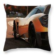 Pagani Huayra - Monza Throw Pillow