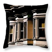 Page At Golden Gate Park Throw Pillow