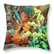 Pagoda Altar Throw Pillow