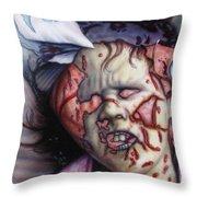 Pain Throw Pillow