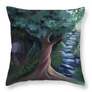 Pain To Gain Victory Throw Pillow