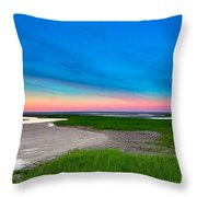 Paines Creek Sunset Cape Cod Throw Pillow