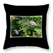Painful Times Throw Pillow