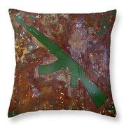 Paint 2 Throw Pillow