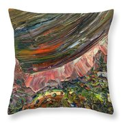 Paint Number 10 Throw Pillow by James W Johnson