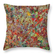 Paint Number 33 Throw Pillow