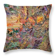 Paint Number 34 Throw Pillow