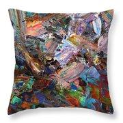 Paint Number 42-c Throw Pillow