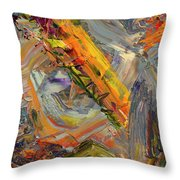 Paint Number 44 Throw Pillow