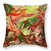 Paint Number 48 Throw Pillow