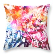 Paint Party Throw Pillow