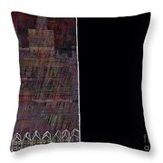 Paint The Town Red 3 Throw Pillow