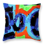 Paint What You Feel Not What You See Throw Pillow