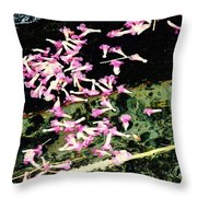 Paintbrush In A Creek Throw Pillow