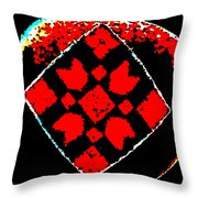 Painted Asteroids 6 Throw Pillow