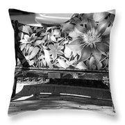 Painted Bench Throw Pillow
