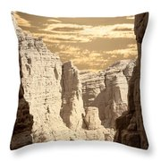 Painted Canyon Trail Throw Pillow