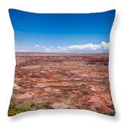 Painted Desert #10 Throw Pillow