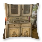 Painted Dresser Throw Pillow