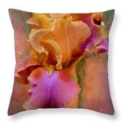Painted Goddess - Iris Throw Pillow