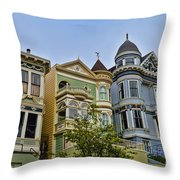 Painted Ladies -2 Throw Pillow
