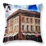 Painted Lady And Sons Throw Pillow