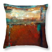 Painted Ponies Throw Pillow by Frances Marino