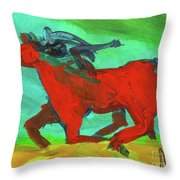 Painted Ponies - Spirit Rider Throw Pillow