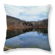Painted Rock Conservation Area Throw Pillow