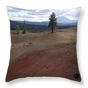 Painted Sands Throw Pillow