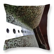 Painted Textured Throw Pillow