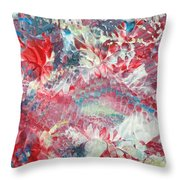 Painted Thought 2 Throw Pillow
