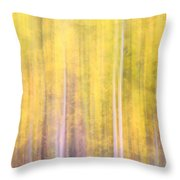 Painted Trees IIi Throw Pillow