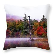Painted Trees Throw Pillow