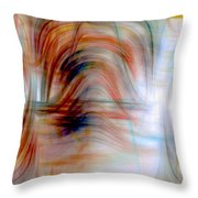 Painted Windows Throw Pillow