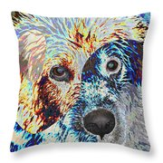 Painters Helper Throw Pillow