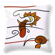 Painting 270 Throw Pillow