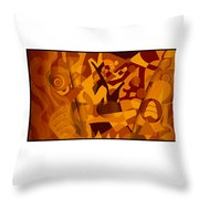 Painting 301 Throw Pillow