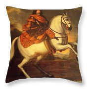 Painting In Denmark Throw Pillow
