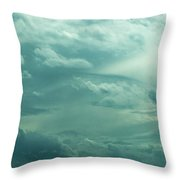Painting In The Sky Throw Pillow