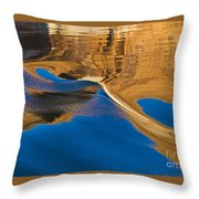 Painting On Water Throw Pillow