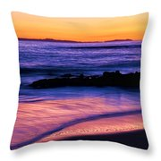 Painting The Ocean Throw Pillow
