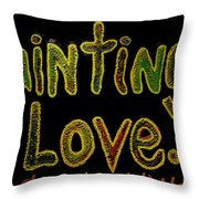 Paintings I Love.com 4 Throw Pillow