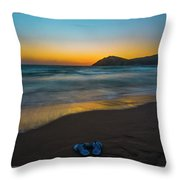 Pair Of Blues Throw Pillow by Julis Simo
