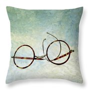 Pair Of Glasses Throw Pillow by Bernard Jaubert
