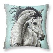 Paisleylusian Throw Pillow