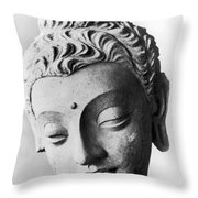 Pakistan: Buddha Throw Pillow