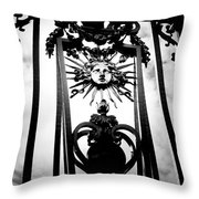 Palace Gate Throw Pillow