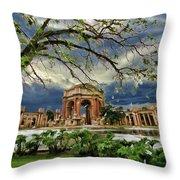 Palace Of Fine Art Throw Pillow